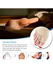 Gel Metatarsal Pad - Arch Support Sleeve - Soft Gel Sleeves Silica Gel Pads for Flat Foot & Plantar Fasciitis Elastic & Breathable Foot Arch Support, Feet Bandage Orthotics Cushions Sock Pain Relief
