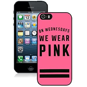 Hot Sale iPhone 5 5S Case ,Unique And Lovely Designed With Victoria's Secret Love Pink 48 in Black iPhone 5 5S Cover