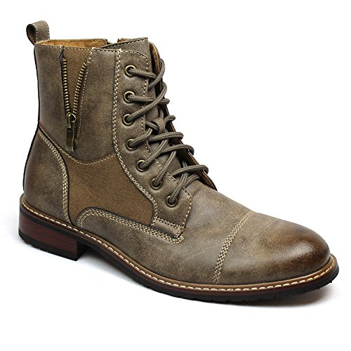 Ferro Aldo Men's Dress Ankle Boots Cap Toe 808561
