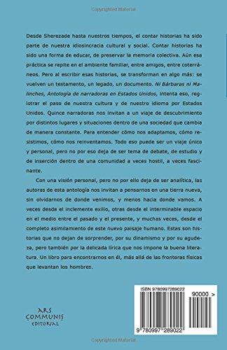 Ni Bárbaras ni Malinches: Antología de narradoras en Estados Unidos (Colección Ríolago) (Spanish Edition): Fernando Olszanski: 9780997289022: Amazon.com: ...