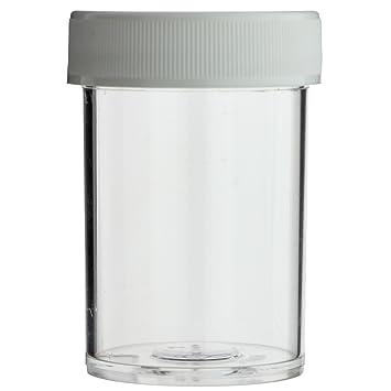 Amazon.com: 1 oz Clear Ronda wide-mouth – Bote de plástico ...
