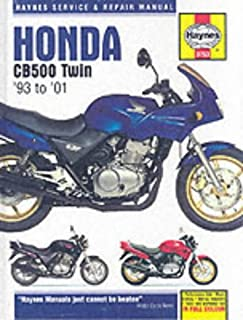 honda cb500 and cbf500 twins service and repair manual 1991 to 2008 rh amazon co uk honda cbf 500 service manual free download honda cb500 service manual