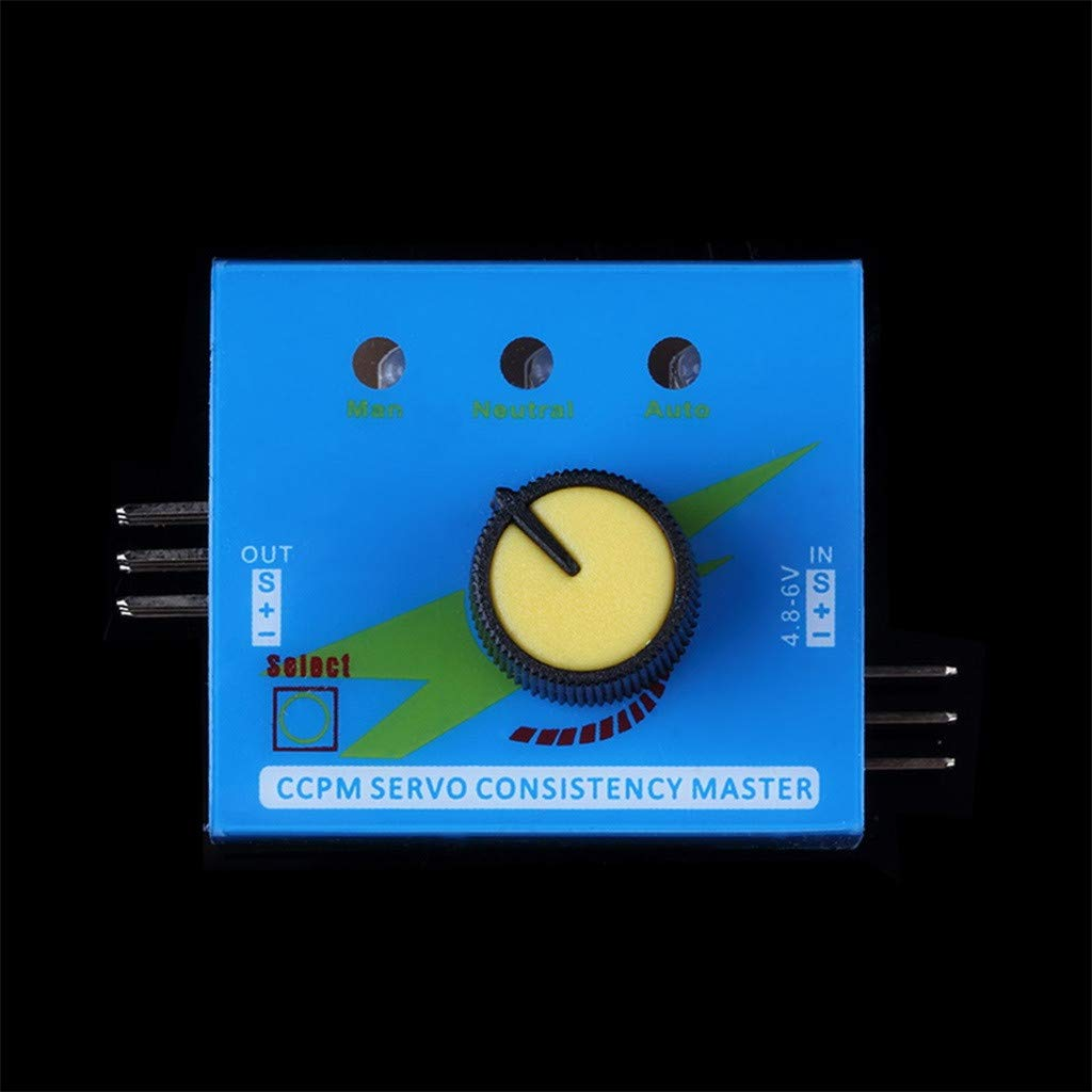 Contr/ôleur De Vitesse Canal dalimentation CCPM M/ètre ZOREFINE /♥ Testeur Multi-servo 3CH ECS