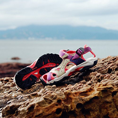 Shoes Ventilate Amphibious Water SD202 Sandals drying Summer Beach Anti Whisper Pink Women's Hiking Clorts Quick Sandals skid Sport Outdoor fwqOZ70C