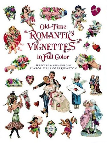 Old-Time Romantic Vignettes In Full Color (Dover Pictorial Archive)