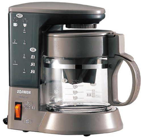 ZOJIRUSHI Coffee Cup – Cup Coffee Maker Communication About 1-4 Herb Brown Ec-tb40-td