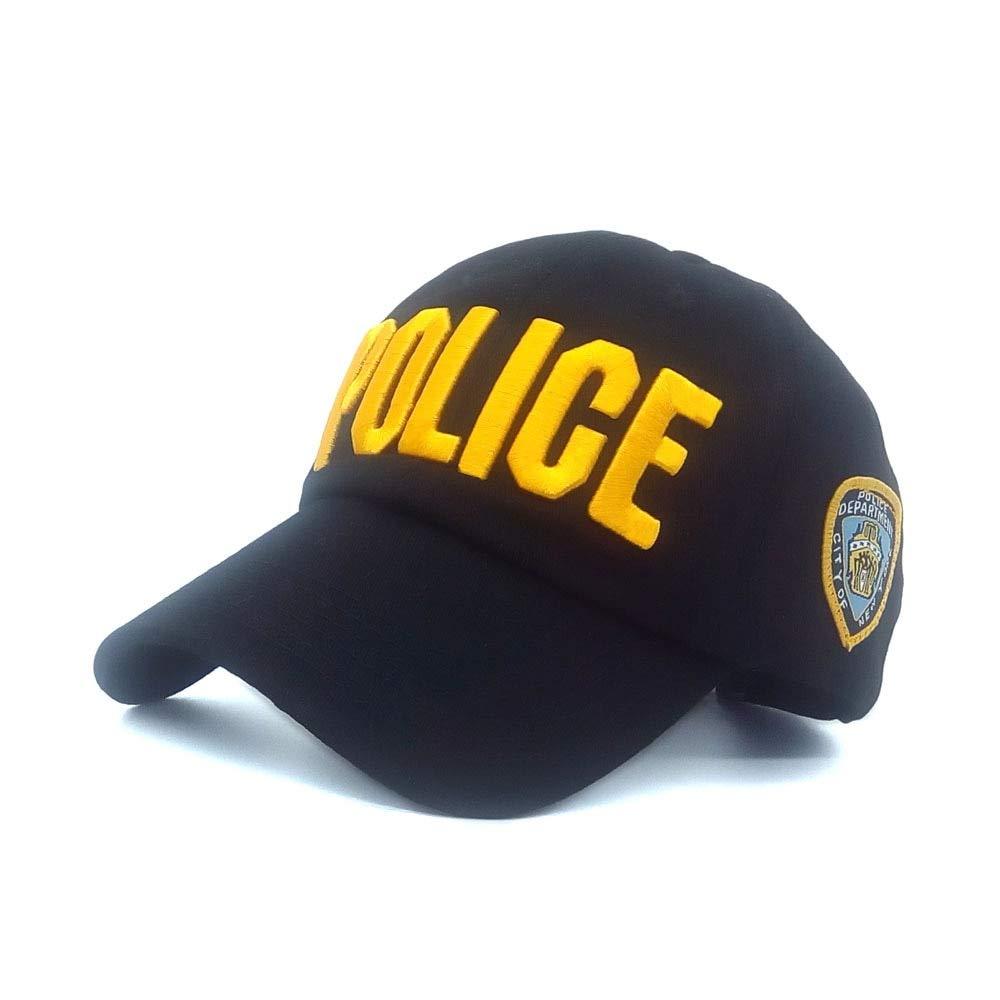 WOFDDH Gorra De Beisbol, Otoño Y Primavera Verano Policía Cartas ...