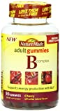 Nature Made B Complex Adult Gummies, 90 Count, Cherry