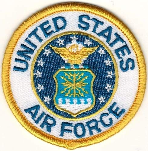 Embroidery Patch Military USAF United States US Air Force Seal 2.5