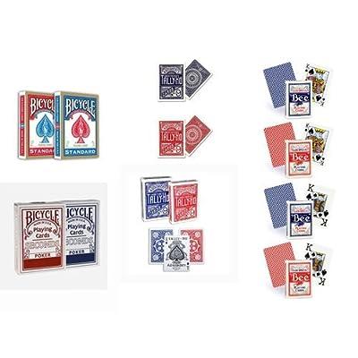 12 mazzi carte Bicycle +Tally Ho+ Bee