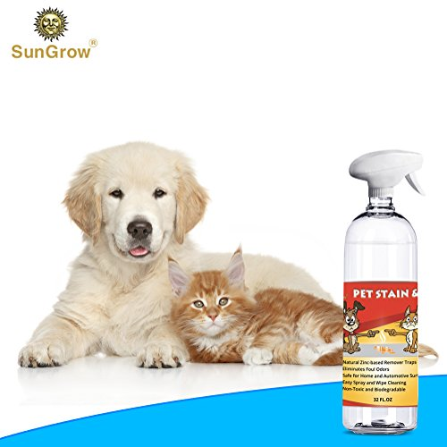 SunGrow Advanced Pet Urine Stain and Odor Remover