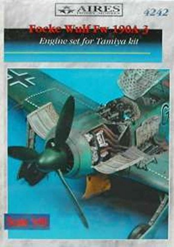 Aires 1:48 Fw 190 A-3 Engine Set for Tamiya Kit - Resin, used for sale  Delivered anywhere in USA