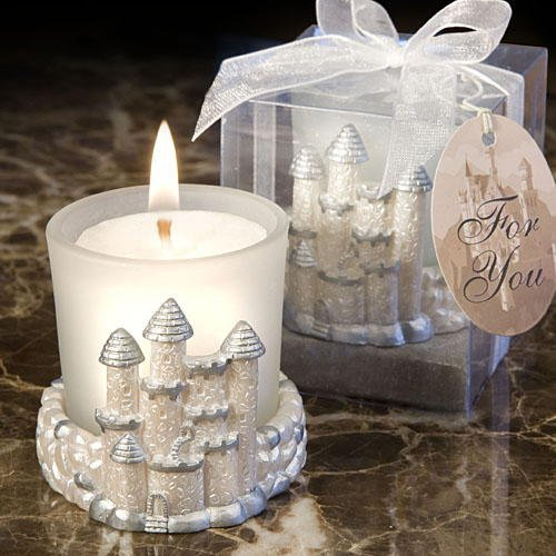 Castle Candles: Fairy Tale Wedding Favors, 72 by Fashioncraft by Fashioncraft