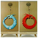 Ice and Fire Dragon Ornament Set | Game of Thrones | Winter is Coming | GOT | Geeky