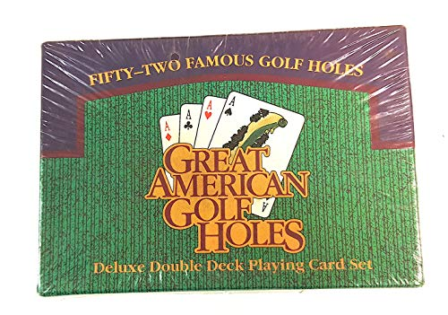 Great American Golf Holes Deluxe Double Deck Playing Card Set 1994