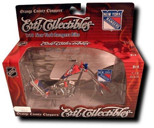Elite Sports ERTL NHL Orange County Chopper 1:18 Scale - Rangers