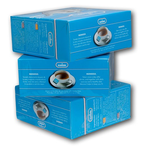 Manasul Tea 50's 3-Pack- Te Manasul (150 Total Tea Bags)