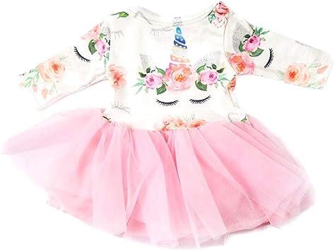 Amazon.es: 1 Set Muñeca De Niña Vestido De Gasa Falda Creativa Con ...