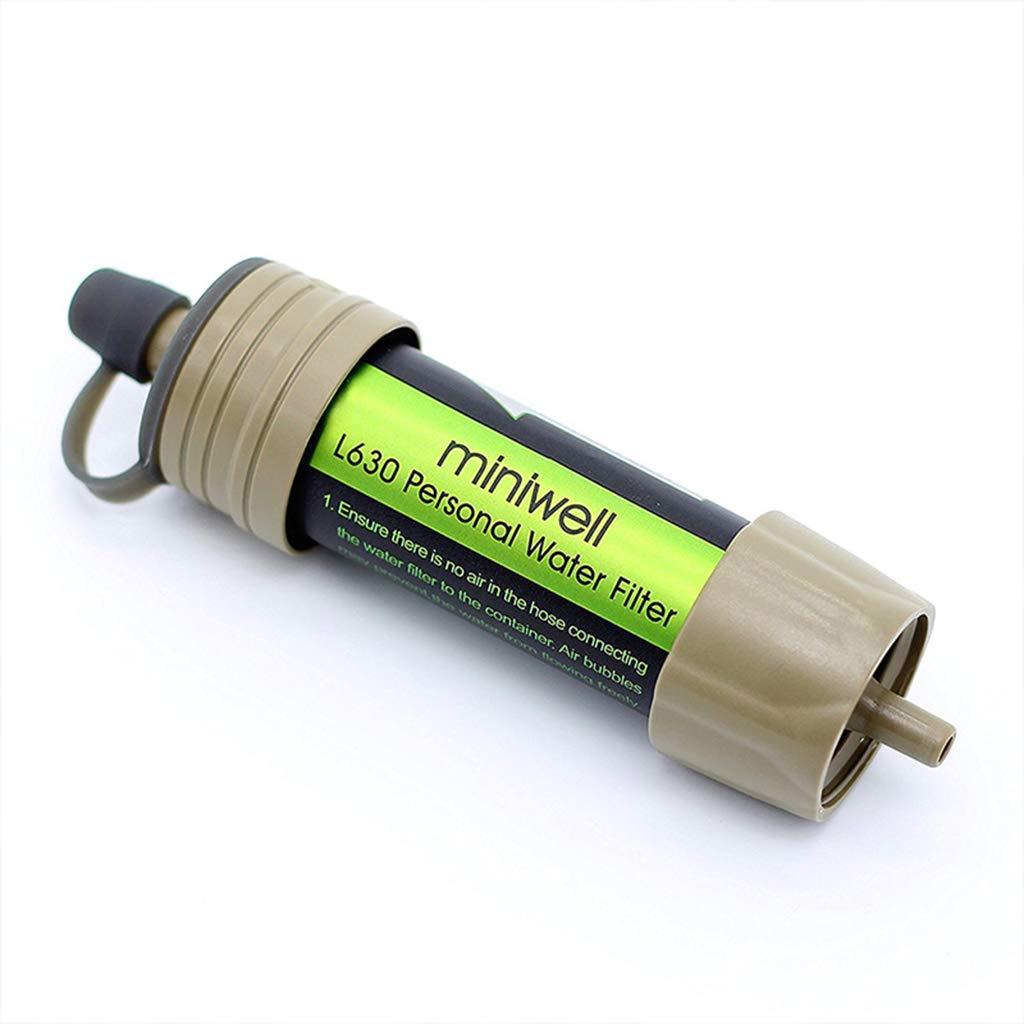 JIBO Portable Outdoor Wasserfilter System mit 2000 Liter Filterkapazität Für Sport Ca