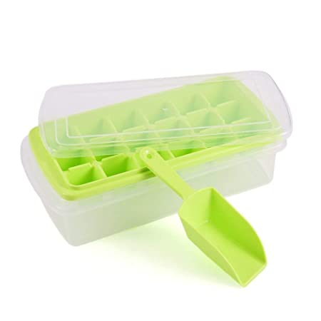 Compra qearly fácil liberación plástico Cubito de hielo bandeja de ...