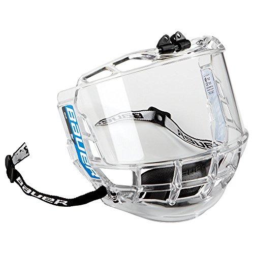 Bauer Kinder Visier für Eishockeyhelm Concept III - Full Visors - Junior, Clear, One size, 1041011