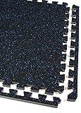 IncStores Soft Rubber Interlocking Gym Flooring