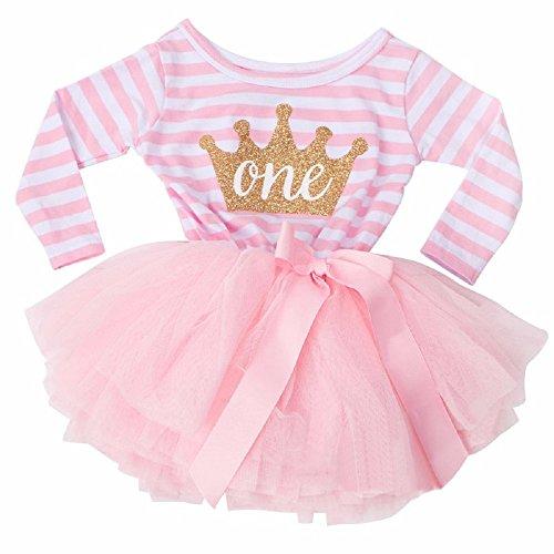 ce91c272416ef Fairy Princess 1st Birthday Tutu Dress (Long Sleeve)