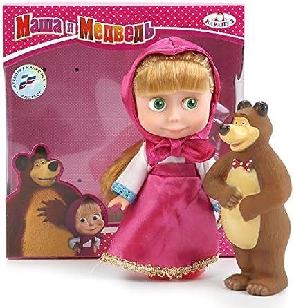 Amazon.com: Masha y el oso juguetes interactivos musicales ...