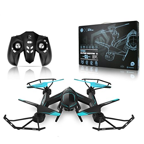 WensLTD Gift ! NEW 4CH 2.4G 6-axis Gyro RC Quadcopter 3D Stunt Flying Aerocraft With LED by WensLTD