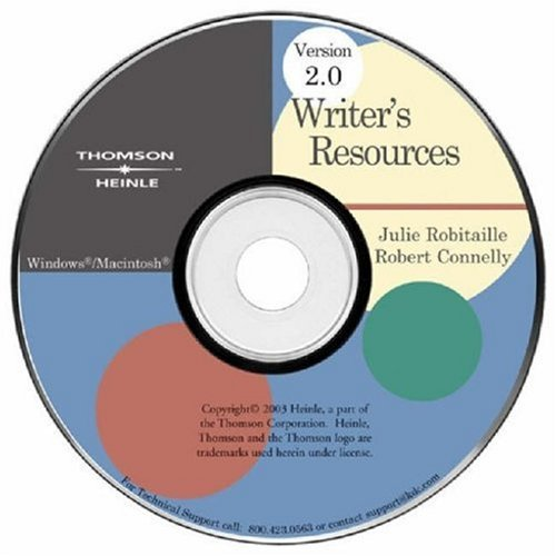 Writer's Resources CD-ROM 2.0 iLrn Version (Available Titles CengageNOW)