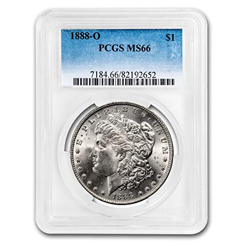 1888 O Morgan Dollar MS-66 PCGS $1 MS-66 PCGS
