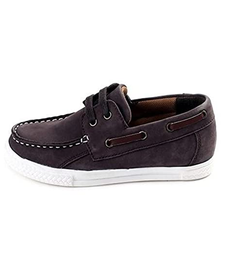755496e8460 Tuskey Boys  Coffee Brown Genuine Leather Casual Shoes (1302968) - 7 Years -