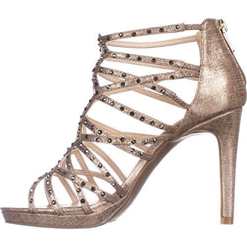 Bar III Brooke Womens Heels Champagne CSupi41DRU