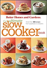 You'll never run out of meal ideas for your slow cooker with this massive, photo-filled compendiumThe second book in the Ultimate series, following The Ultimate Cookie Book, this giant collection of recipes will keep your slow cooker meals de...