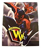 Marvel Ultimate Spiderman Web-Warriors 2 Folder Set ~ Iron Spider, Spidey with Spider-man 2099