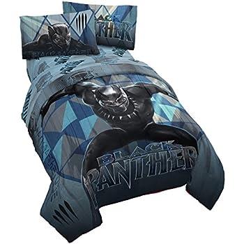 Amazon Com Jay Franco Marvel Black Panther Blue Tribe