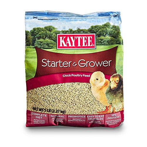 Cheapest Kaytee Chicken Starter Grower Crumble, 5 Pound Check this out.