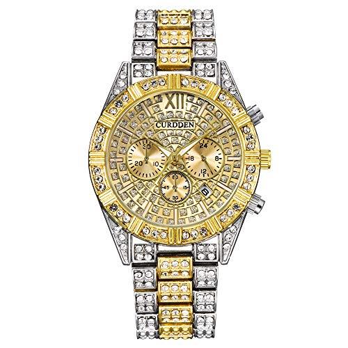 【2021最新版】 レディースウォッチ 腕時計 女性は女性の女の子に適したシリコンストラップ付きクォーツ時計を見る