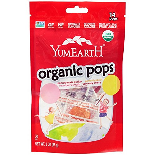 YumEarth, Organic Pops, 14 Lollipops, 3 oz (85 g) YumEarth, Organic Pops, 14 Lollipops, 3 oz (85 g)