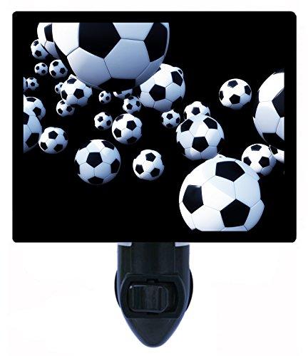 Night Light - Soccer Balls - Sports LED NIGHT LIGHT by Night Light Designs