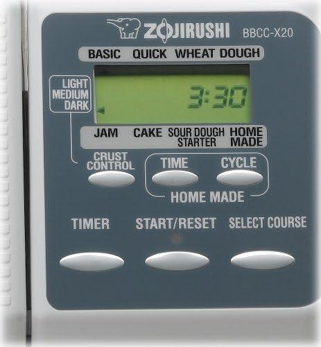 Zojirushi BBCCX20 Home Bakery Supreme Bread Machine by Zojirushi ...