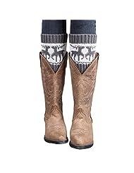 Leg Warmer TOOPOOT® Best Sell Women Knitted Christmas Wapiti Leg Warmers Boot Cover