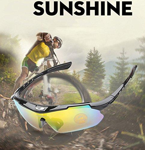 explosiones Aire Libre Gafas Materiales de Deportes Escalada E a Prueba Pesca al Viento PC Ciclismo TwZFO
