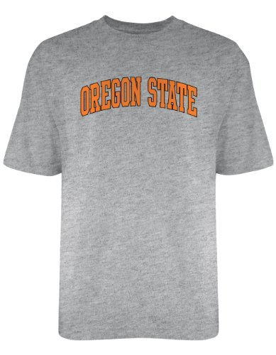 NCAA Oregon State Beavers Licensed T-Shirt, Large, Dark Ash