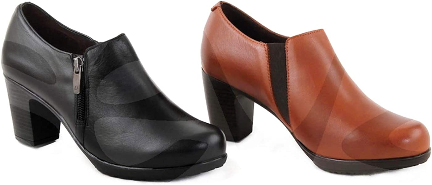 Zapatos Estil Tupie 886 Corte-Piel,Forro-Tela,Plantilla-Tela.Tacón ...