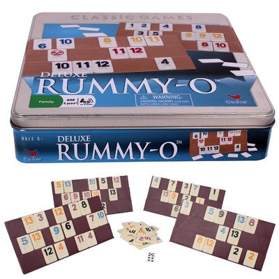 Wholesale Deluxe Rummy-O in Tin Box - Ages - Deluxe Case Tin