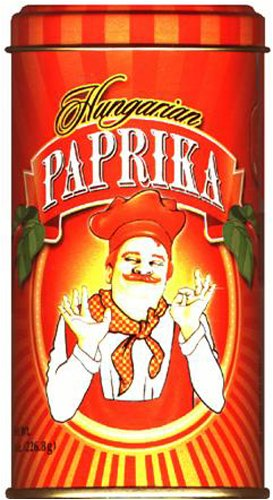 Hungarian Paprika (Bende Hungarian Sweet Paprika), 8-Ounce Tins (Pack of 4)