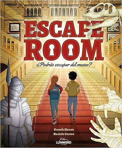 Escape Room. ¿Podrás escapar del museo? de Gareth Moore