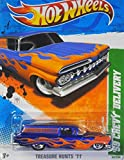 2011 Hot Wheels Treasure Hunt '59 Chevy Delivery 65/244