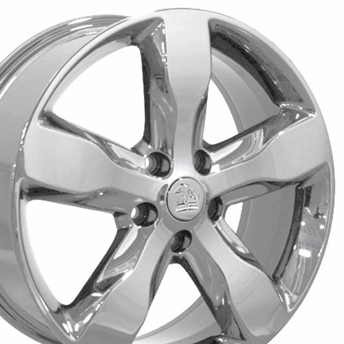 20x8 Wheels Fits Jeep - Grand Cherokee Factory Original Wheels - Chrome - Set of 4 - OEM (Grand Cherokee Srt8 Rims compare prices)